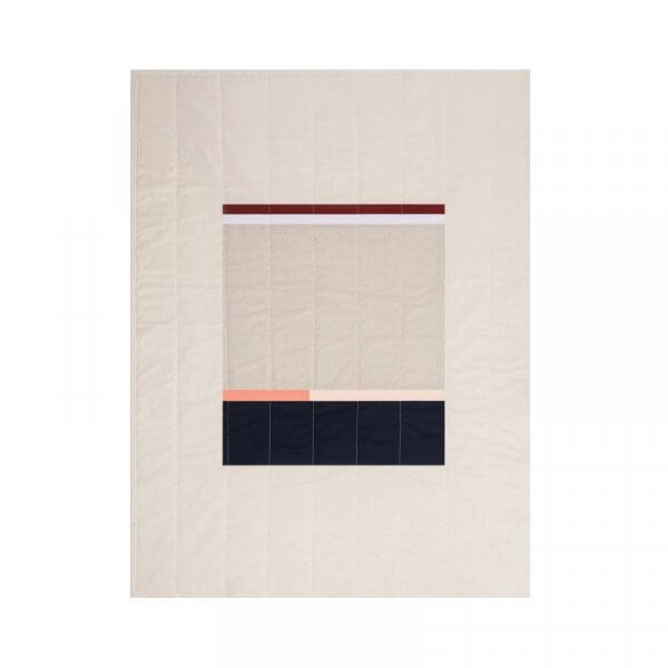 Louise Gray Wadena Throw Quilt