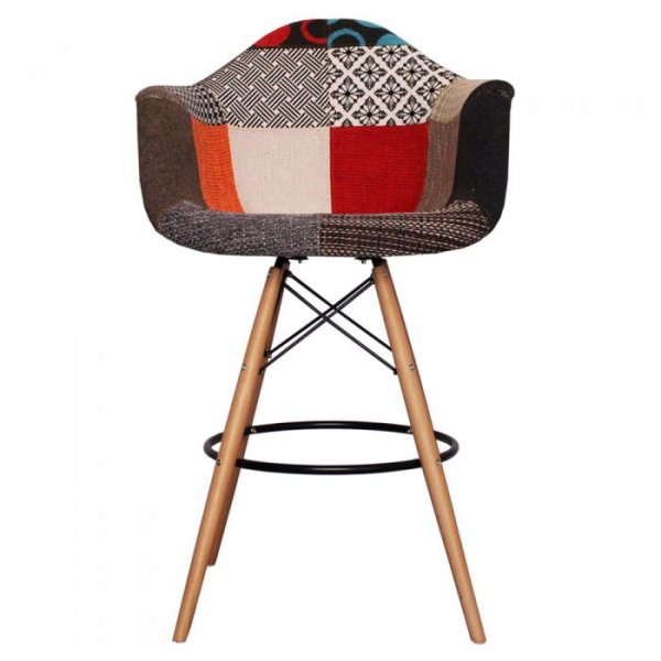 DAB Bar Stool in Natural Legs and Fabric