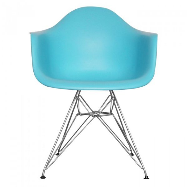 DAR Arm Chair in Chrome Legs and Polypropylene