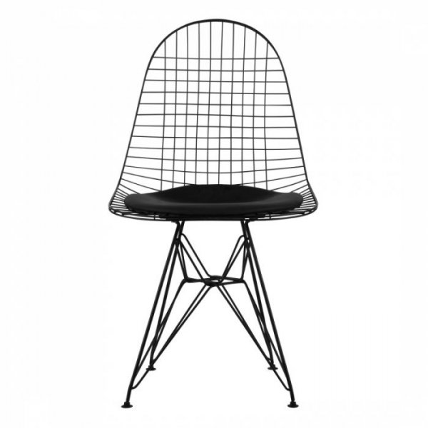 Charles Ray Eames Style Side Chair in DKR Wire