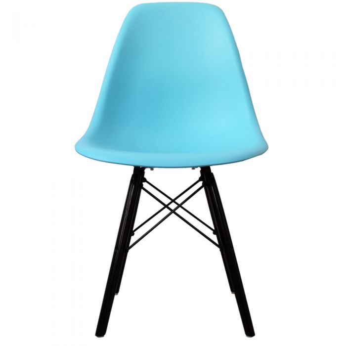 DSW Side Chair in Black Legs and Polypropylene