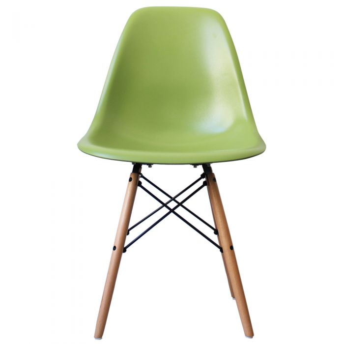 DSW Side Chair in Natural Legs and Polypropylene
