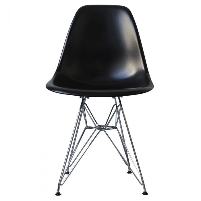 DSR Side Chair in Chome Legs