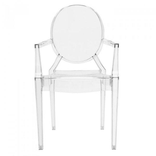 Louis Ghost Arm Chair in Polycarbonate
