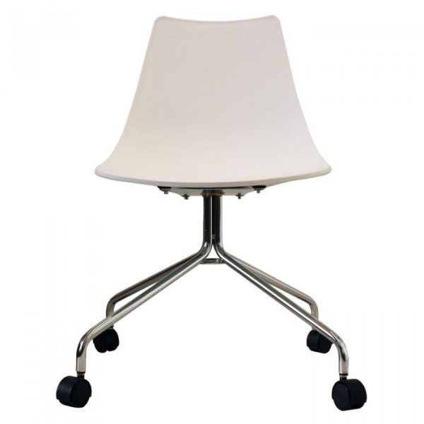 N-DSC Side Chair in Chrome Legs and Polypropylene Seat