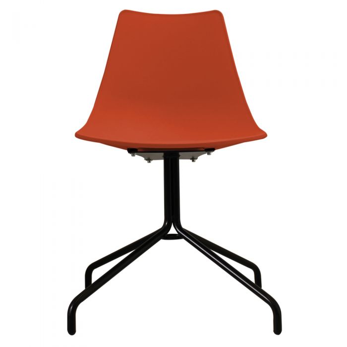 N-DSP Side Chair in Black Legs and Polypropylene Seat