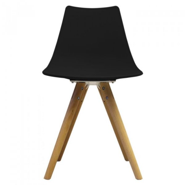 N-DSW Side Chair in Natural Legs and Polypropylene Seat