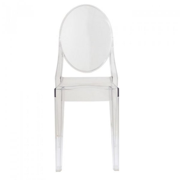 Victoria Ghost Side Chair in Acrylic