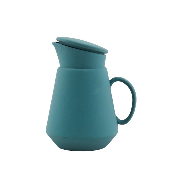 Green Ceramic Coffee Jug