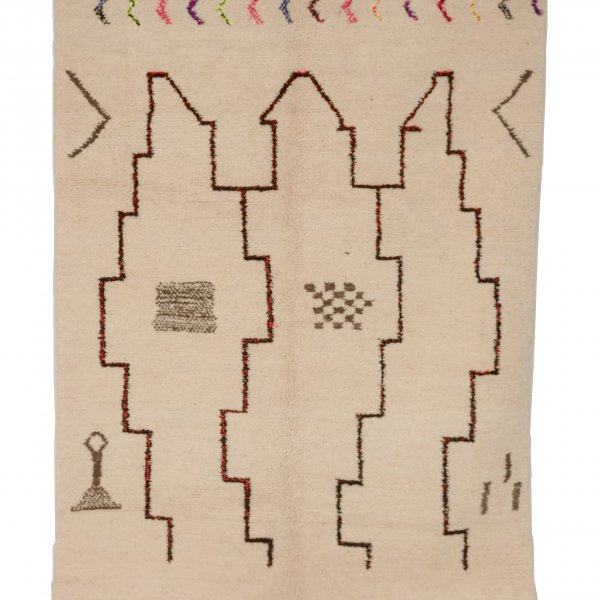 Multicolored Azilal Rug- Habiba