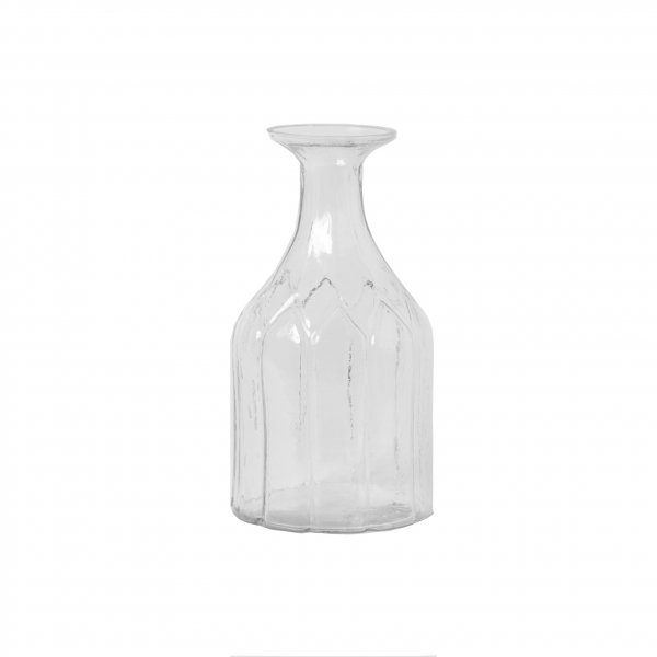 Mouth Blown Romance Angular Vase