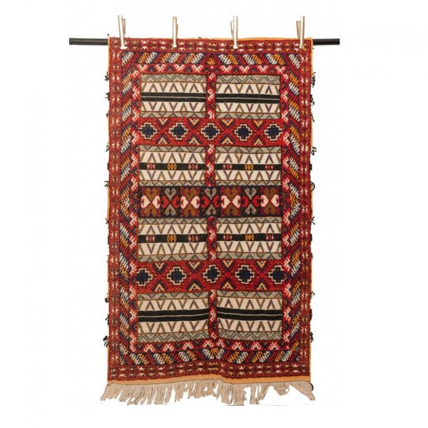 Multicolored Nomad Rug- Salma