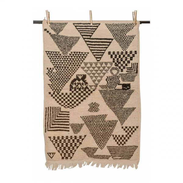Multicolored Beni Ourain Rug- Sarah