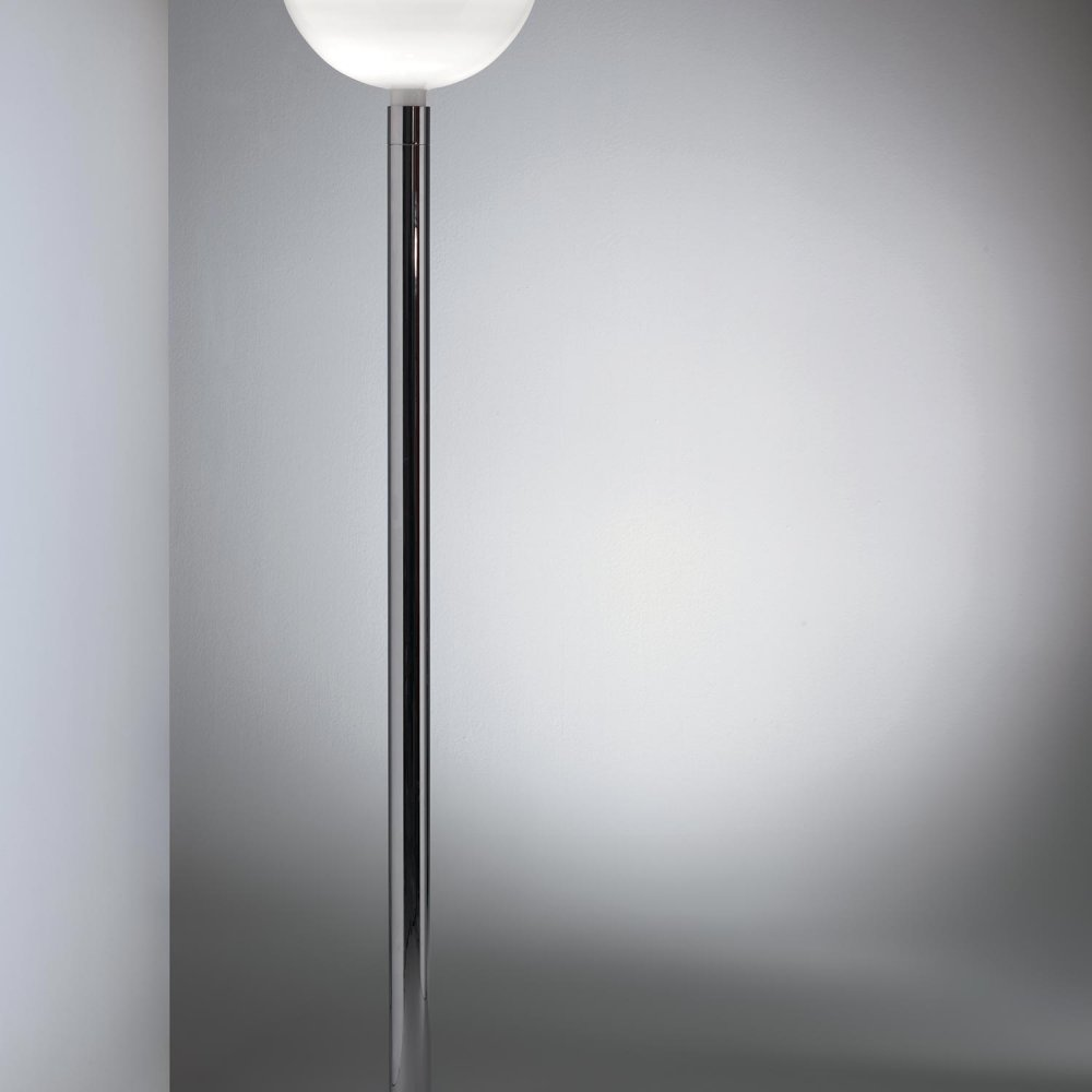 Chrome Floor Lamp – Am2c by Mr. Albini