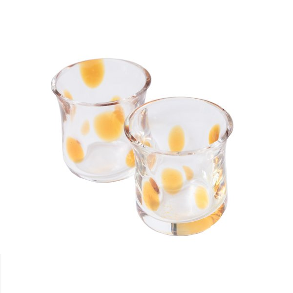 Amber Spot Shot Glass