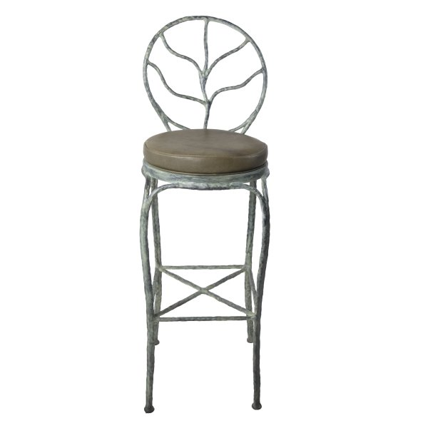 Leaf Back Bar Stool