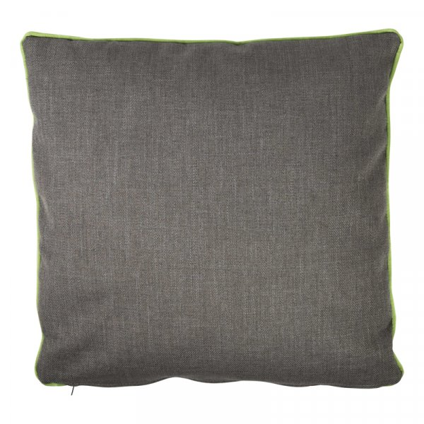 Dark Grey Cushion in Cotton