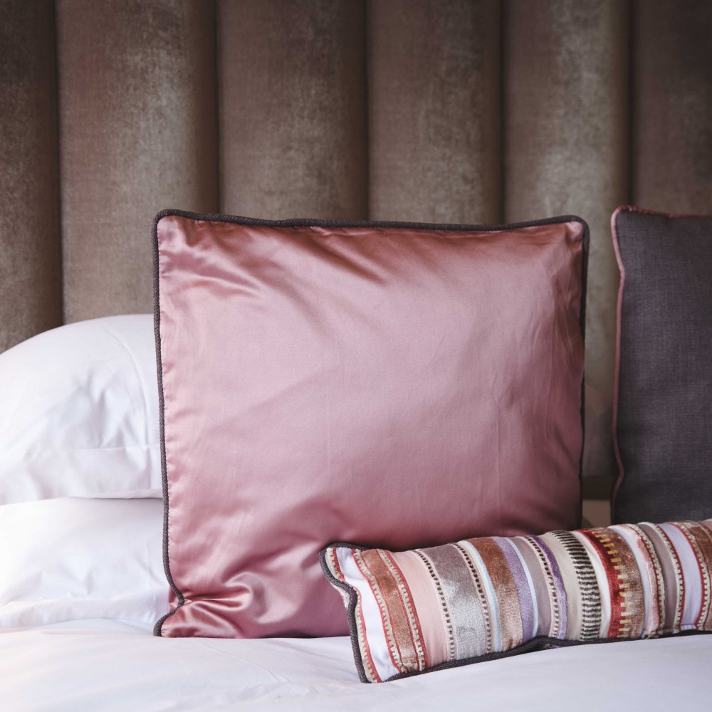 Pink Cushion in Cotton