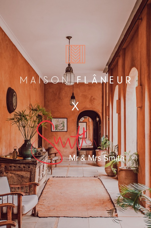 Maison Flâneur partners with Mr & Mrs Smith