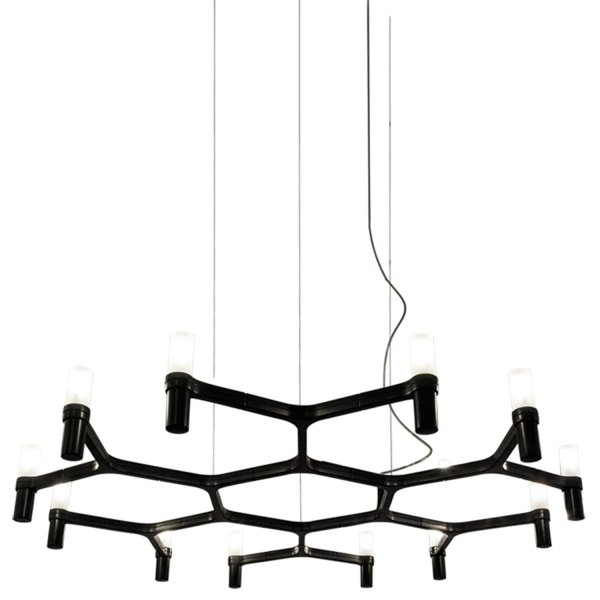 Pendant Chandelier – Crown Plana Minor by Jehs+ Laub