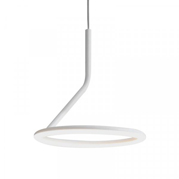 White Pendant Lamp – Giò by Angeletti Ruzza Design