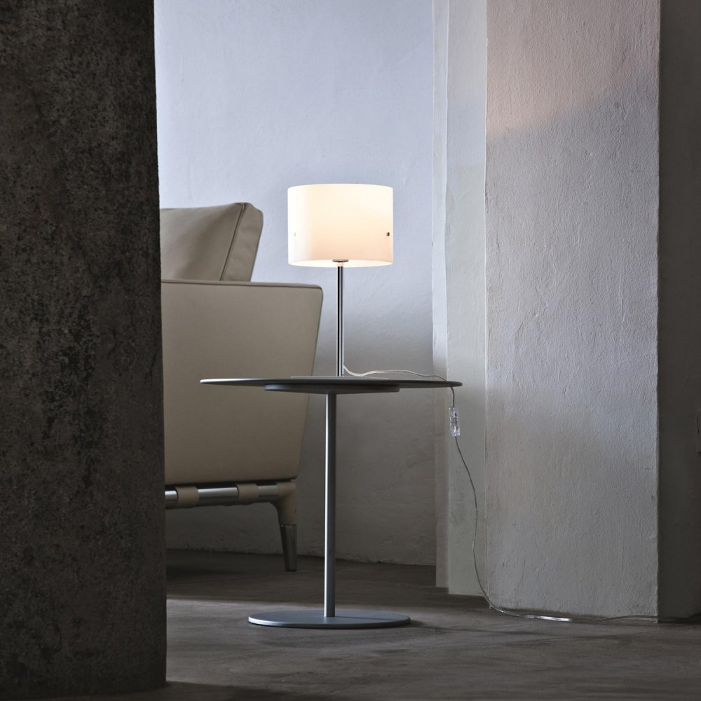 White Table Lamp – Donna Minor by Stefano Marcato