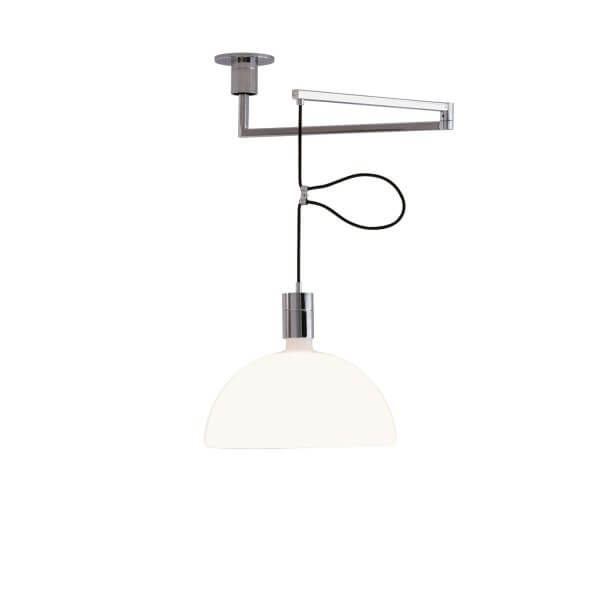 Chrome Pendant Lamp – As41c by Mr. Albini