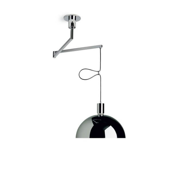 Chrome Pendant Lamp – As41z by Mr. Albini