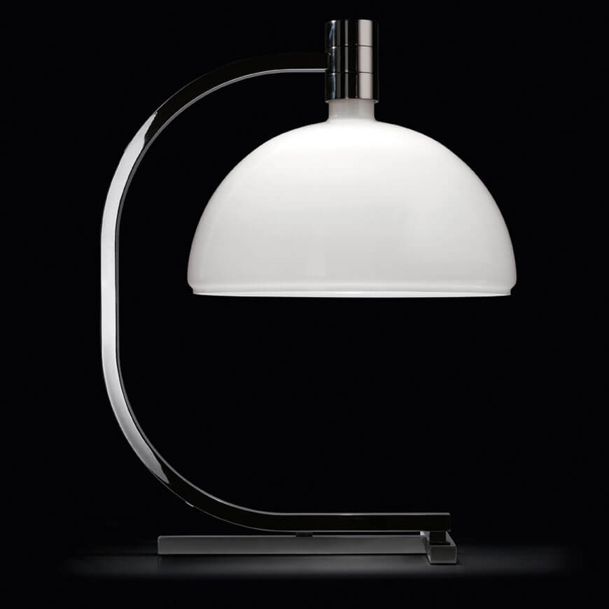 Chrome Table Lamp – As1c by Mr. Albini