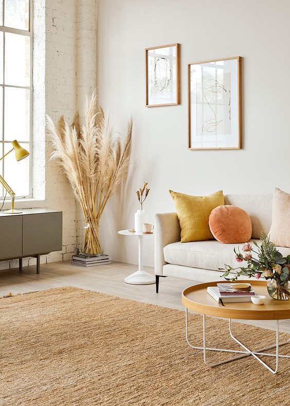 Cosy living room decor ideas for autumn