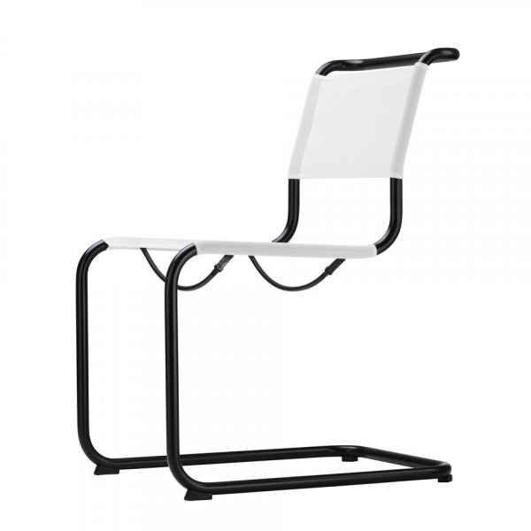 Cantilever Chair S33 N Thonet All Seasons in Steel Frame
