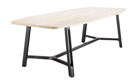 Flat Steel Table with Traverse S 1092