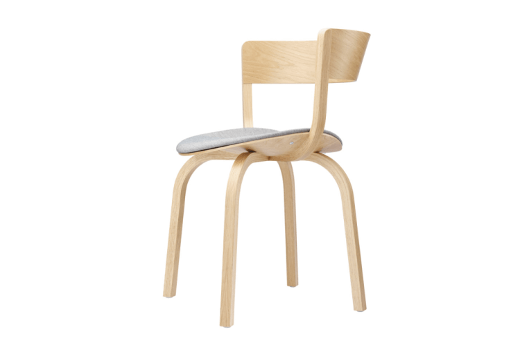 Wooden Chair with Armrest 404 SPF