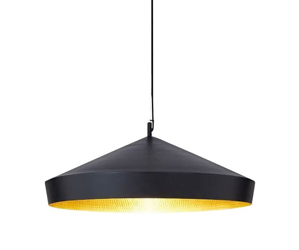 Beat Flat Pendant Lamp Black