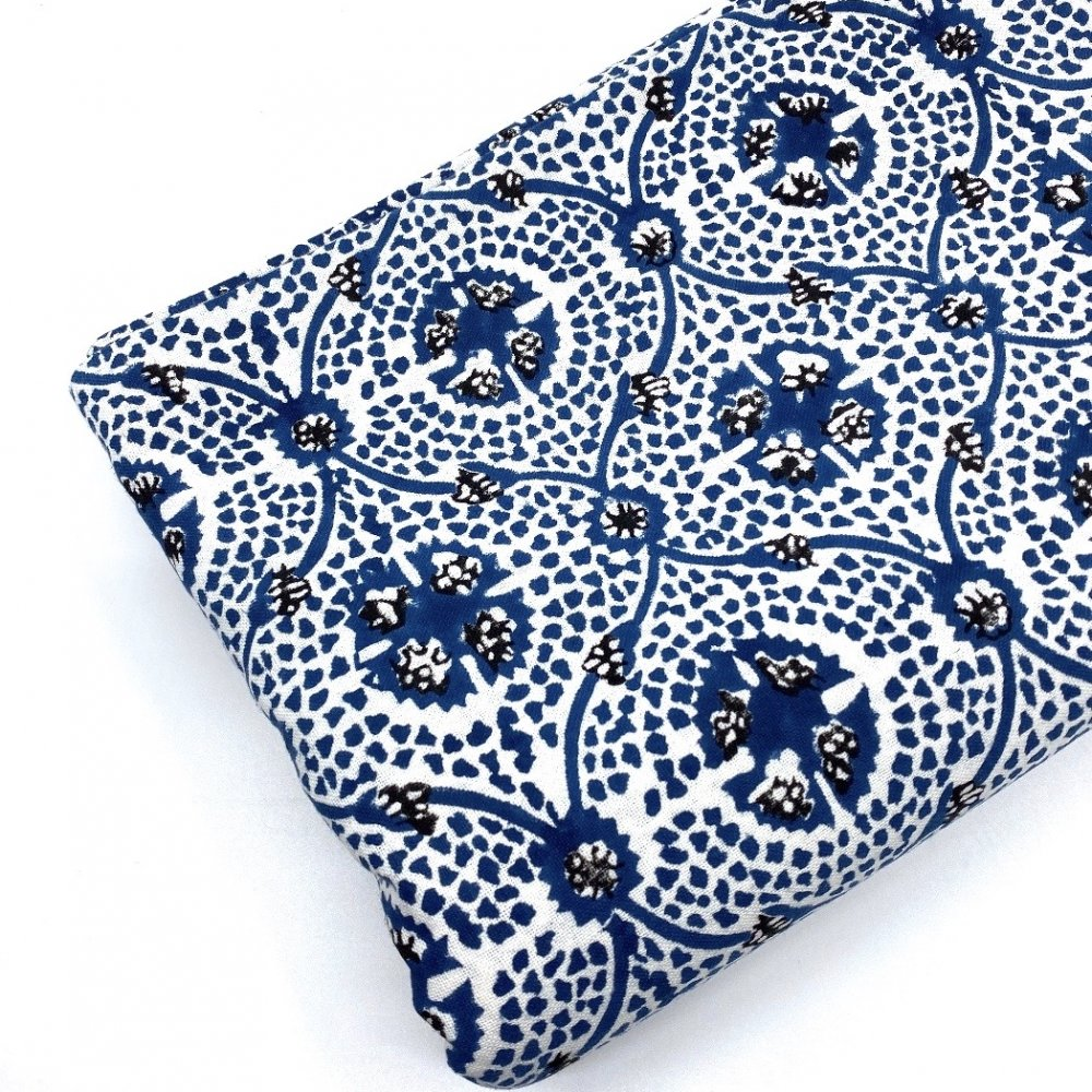 Carolina Irving and Daughters Blue Tile Tablecloth