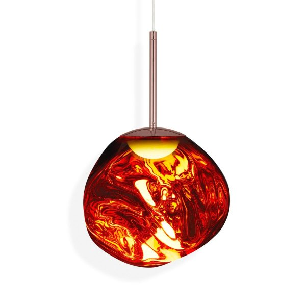 Melt Mini LED Pendant Lamp Copper