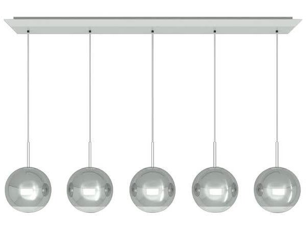 Mirror Ball 25cm Linear Pendant System