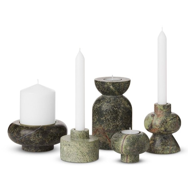 Rock Candle Holder Large