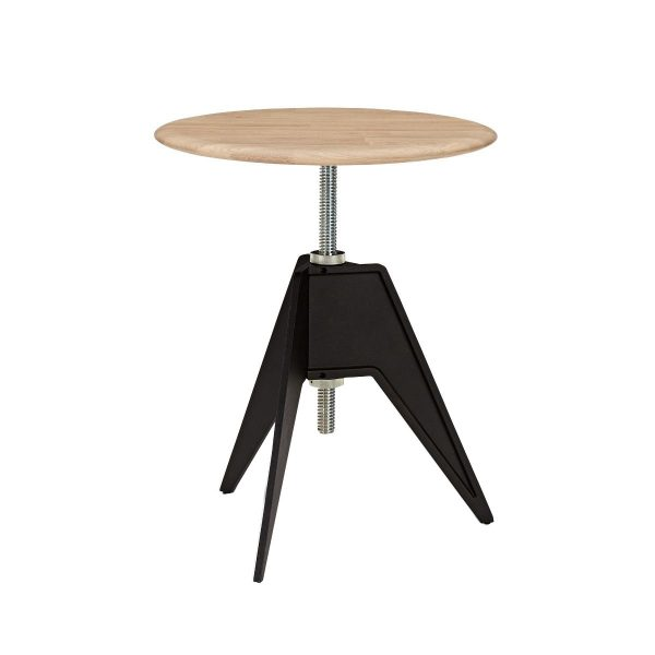 Screw Cafe Table Natural Oak