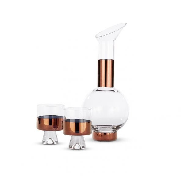 Tank Copper Water Giftset