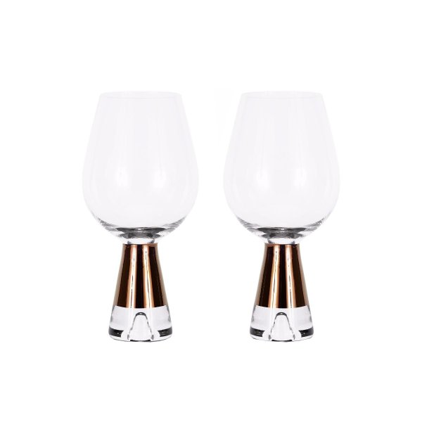 Tank Wine Glasses Copper, Set of 2