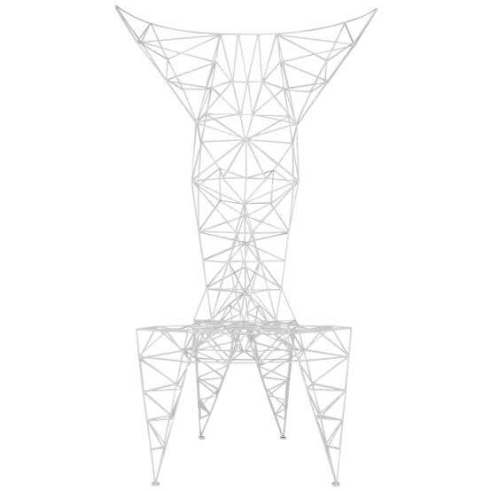 Pylon Chair White