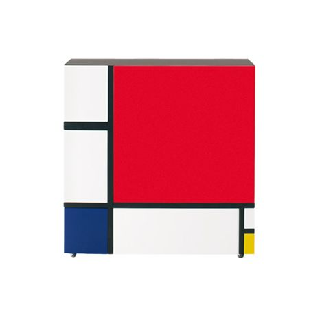 Homage to Mondrian Cabinet