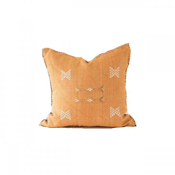 Autumn Orange Sabra Pillow
