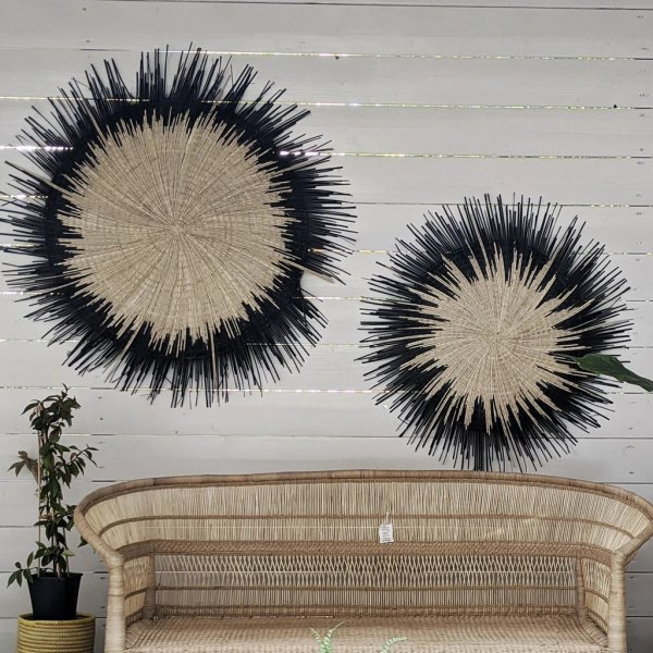 Black Sun Circle Wall Hanging