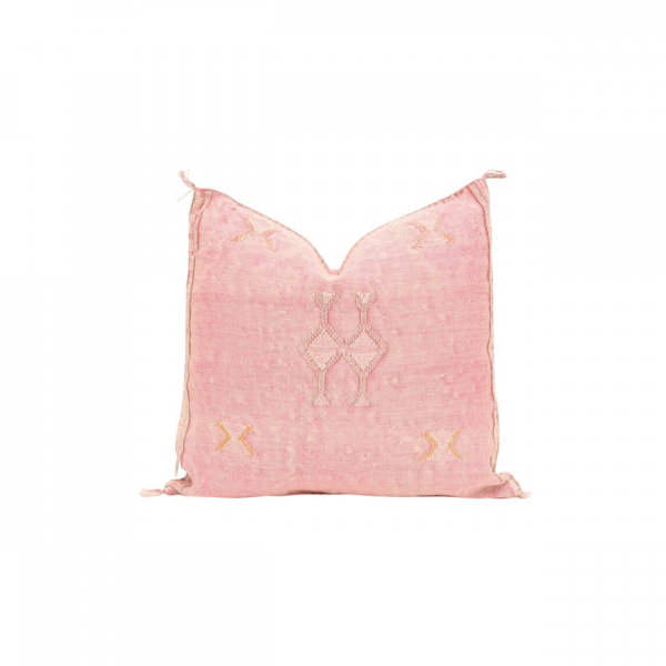 Blush Pink Sabra Pillow