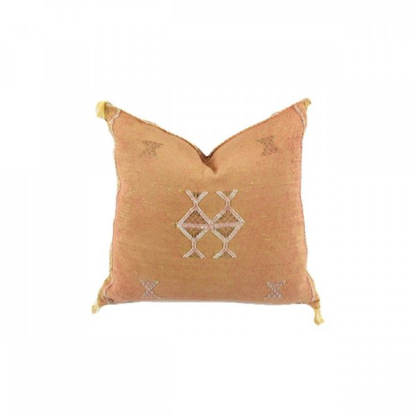 Caramel Orange Sabra Pillow