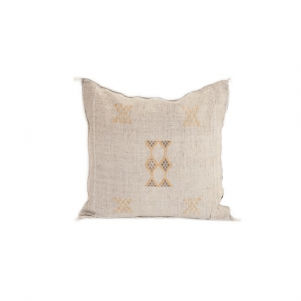 Light Grey Sabra Pillow