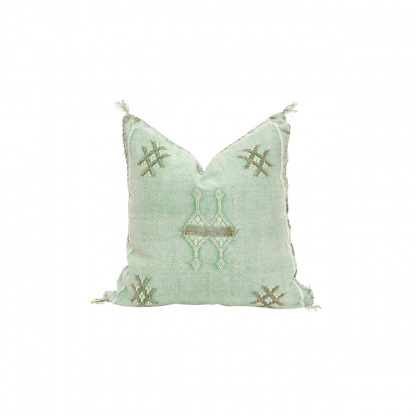 Mint Green Sabra Pillow