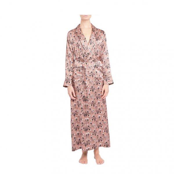 Silk Bianca Robe